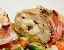 Bacon Wrapped Chicken with Cream Cheese Filling