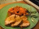 Braised Pork Chops with Sweet Potatoes
