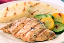Garlic Marinated Chicken with Grilled Potatoes